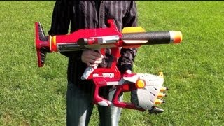 Nerf N-Strike Unity Power System - Range Tests (Stock)
