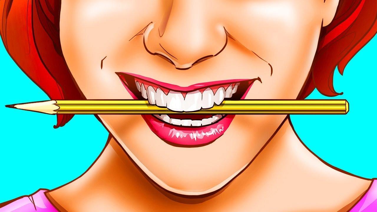 ضع قلم رصاص في فمك لتصبح أكثر سعادة، وإليك السبب!