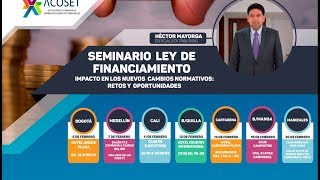 Seminario Ley de Financiamiento