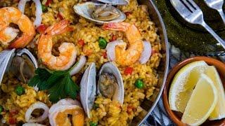 Simple And Tasty Seafood Paella