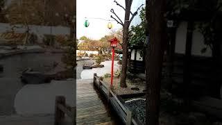 Odaiba Oedo Onsen Foot Bath 1