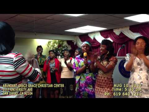 ABUNDANT GRACE CHRISTIAN CENTER MUSIC EXTRAVAGANZA 2013