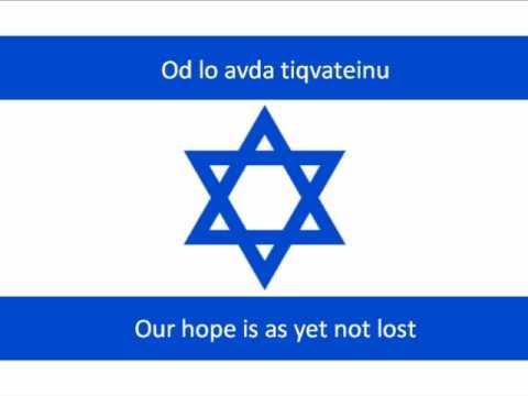 Hatikva Transliteration AND Translation