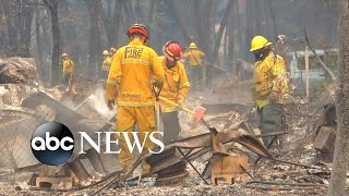 Number of missing in California fire skyrockets