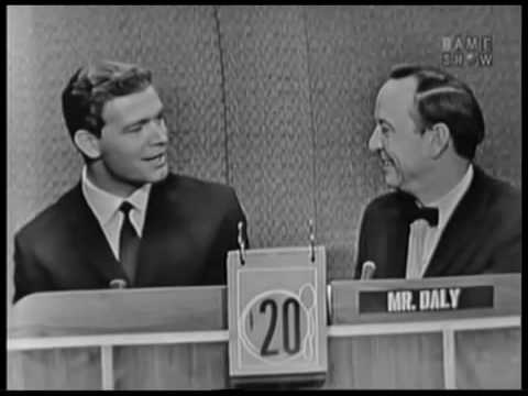 Stephen Boyd - What's My Line (1960) John Daly hosts.