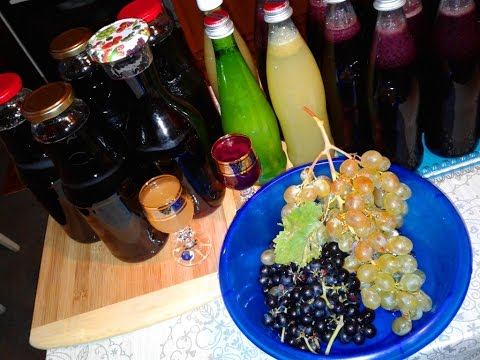 Как делать виноградный сок на зиму