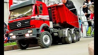 STUNNING HEAVY RC TRUCKS, TRACTORS, EXCAVATOR, TIPPER, SEMI TRUCK AND MORE ON THE CONSTRUCTION SITE!