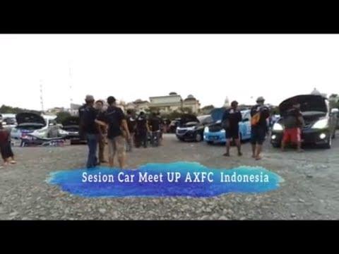 Sesion Car Meet UP AXFC  Indonesia di Tempat Parkiran Ancol Jakarta 2018
