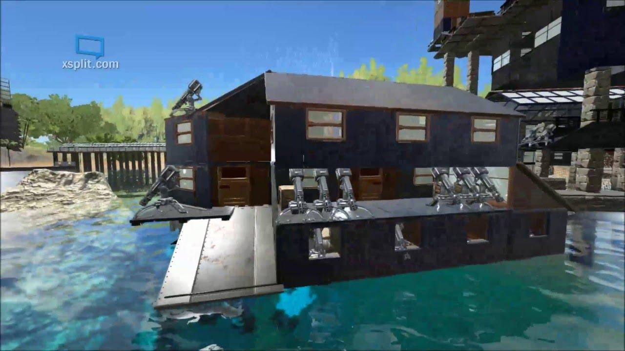 Ark: Survival Evolved Arkitect Builds   Fort Guardian Ships   YouTube