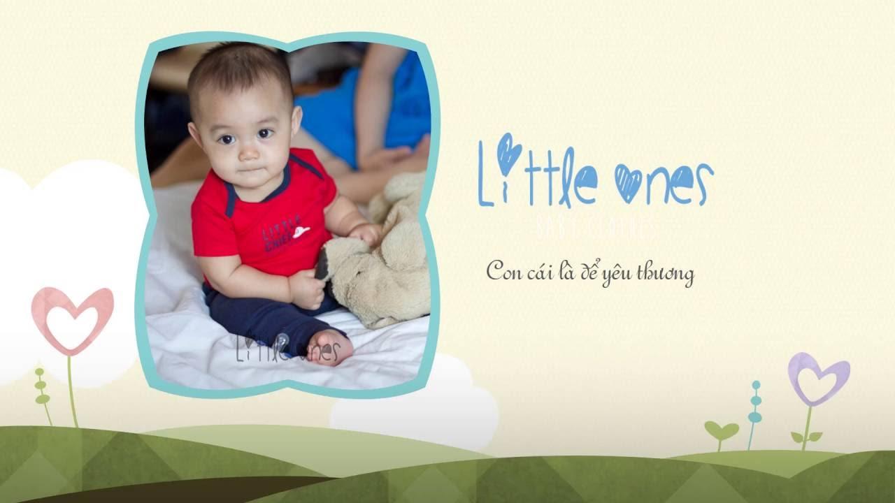 Little Ones - Quần áo trẻ em nhập Mỹ - Tháng 9/2016