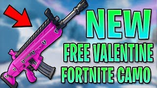 COMMENT GET THE FREE CUDDLE TEAM WRAP IN FORTNITE! (FORTNITE VALENTINE ARME PEAU)