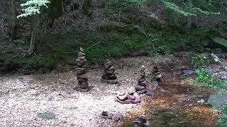 Strange Stacked Rocks