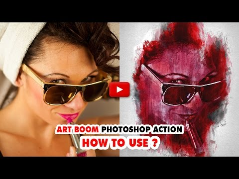 Art Boom Photoshop Action - Video Tutorial | Mesothelioma Attorney Directory Of Photoshop