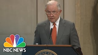 Jeff Sessions Announces New Religious Liberty Task Force   NBC News
