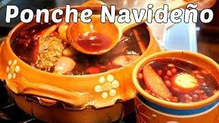 Ponche Navideño MEXICAN STYLE HOLIDAY FRUIT PUNCH