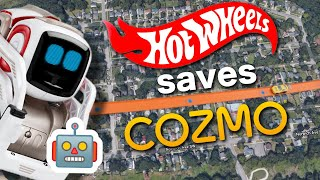 EMERGENCY! Hot Wheels car drives city block to save Cozmo