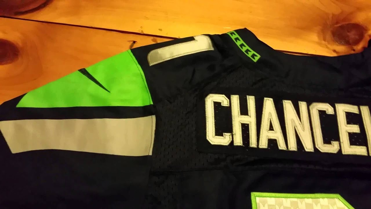 bd261da910c How to tell if a nike elite jersey is fake - YouTube