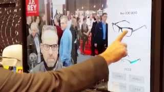 Essayage virtuel de lunettes - the virtual eyewear try on with 3D augmented reality