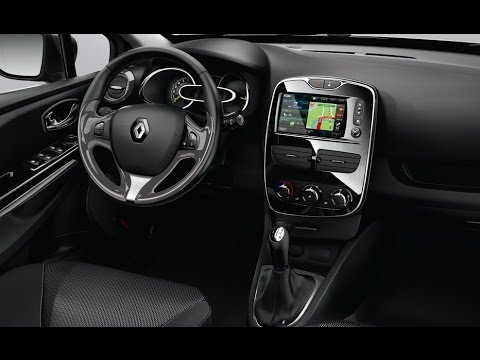 New 2017 Renault Clio - Interior - YouTube