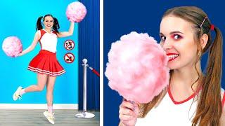 COOLEST WAYS TO SNEAK SNACKS INTO CLUB! || DIY Weird Sneaking Ideas! Food Life Hacks By 123 GO! BOYS
