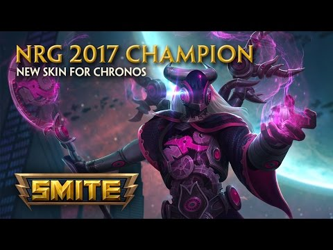 SMITE - New Skin for Chronos - NRG 2017 Champion