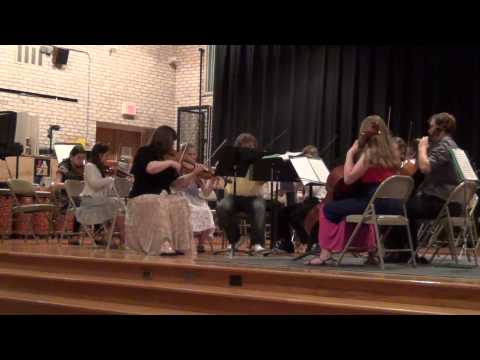 Kanack School of Music Junior orchestra Eine Kleine Nactmuzik by Mozart