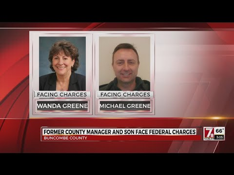 Fmr. Buncombe Co. manager, son indicted for misuse of public funds
