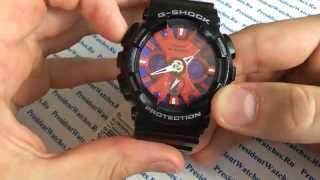 Настройка часов Casio G-SHOCK GA-120B-1A - инструкция от PresidentWatches.Ru