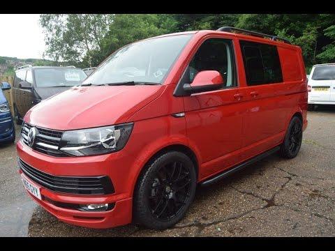 VW Transporter 2015 Cherry Red Kombi 140 LV Sportline Pack