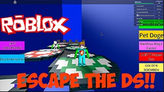RUN FROM THIS PSP | Roblox Escape The DS