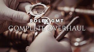 Rolex GMT Complete Overhaul