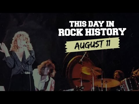 Led Zeppelin's Last UK Show, John Lennon Apologizes - August 11 in Rock History
