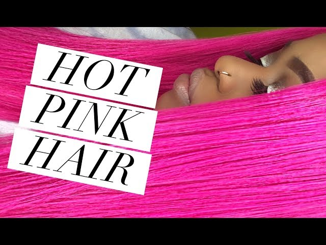 HOW TO: Hot pink hair using Adore !