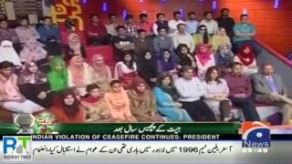 Geo TV Kahabarnaak Ayesha Jahanzeb on Pakistan Day & Ahmadiyya Zafrullah Khan