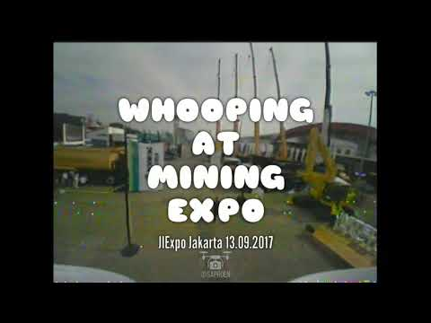 WHOOPING AT MINING EXPO