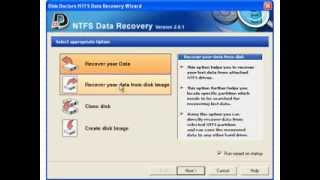 NTFS Data Recovery Software