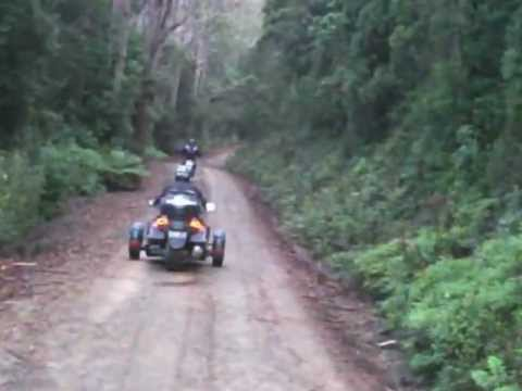 can-am Spyder off road - YouTube
