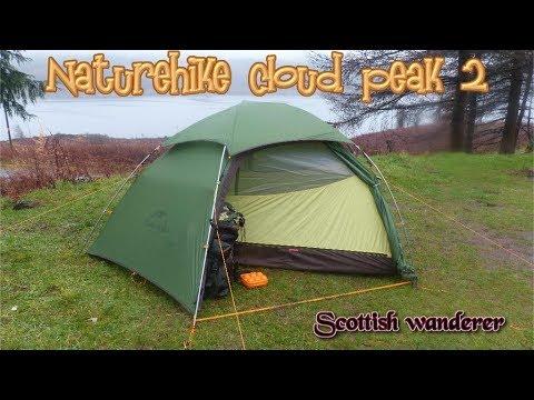 Wild Camping Scotland Naturehike Cloud Peak 2 Man Tent 4 Season Tent Banggood.com