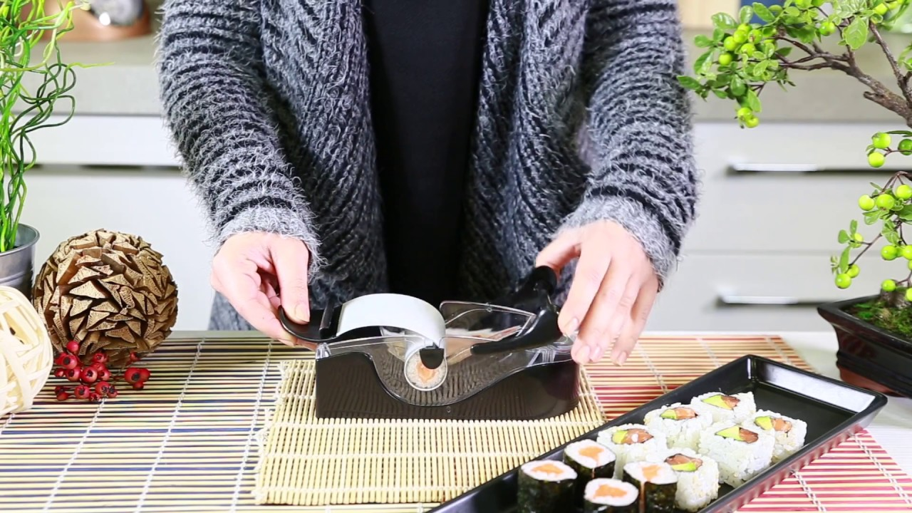 Sushi Roller Youtube