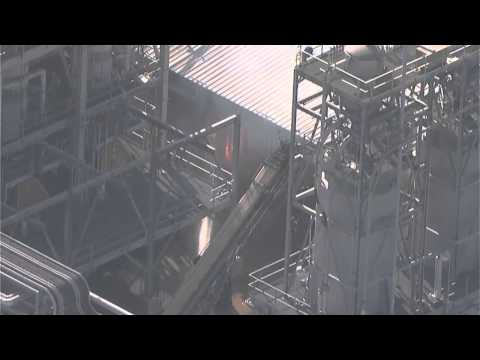 Chemical plant fire in Pasadena Tx