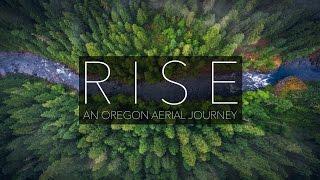 RISE - Oregon Aerial Nature | Drone | 4K UHD