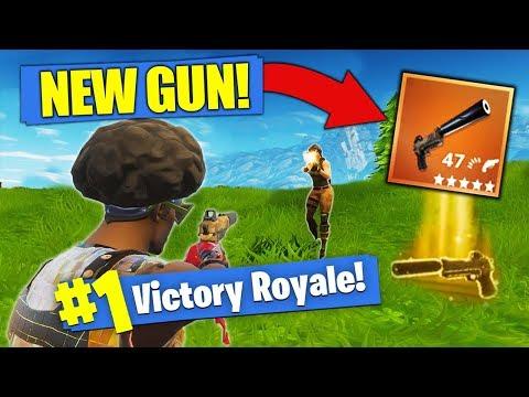 The NEW LEGENDARY Gun - Silenced Pistol [Fortnite]