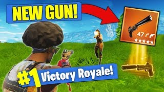 The NEW LEGENDARY Gun - Silenced Pistol [Fortnite]