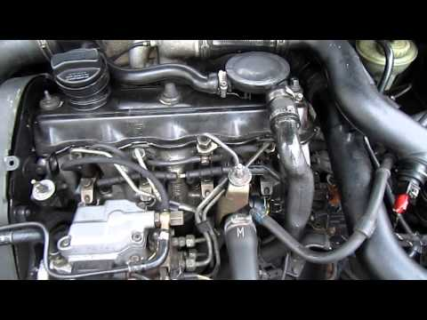работа двигателя 1Z 1.9TDI PASSAT B4 1996 после замены ремней
