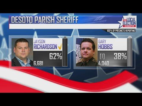 Richardson wins DeSoto Parish Sheriff's race