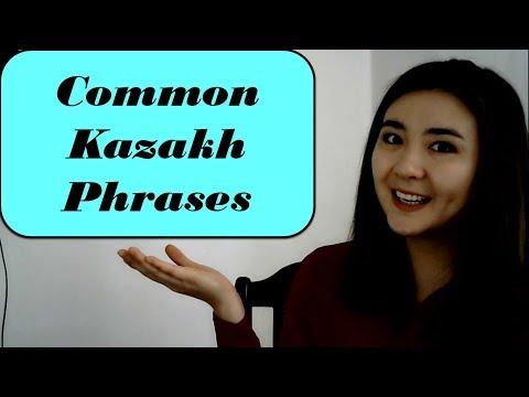Common Kazakh Phrases