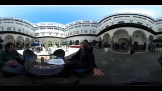 Video 360 Historia del Le Royal Hotel El Minzah by Bluebay en Tanger Video 360