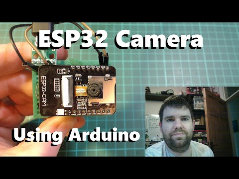 ESP32 Camera Programmed Using Arduino