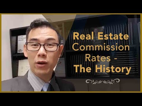 Real Estate Commission Rates - The History