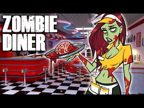 THE ZOMBIE DINER (Call Of Duty Custom Zombies)